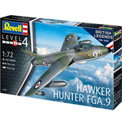 British Legends: Hawker Hunter FGA.9 (Level 4) (Scale 1:72)