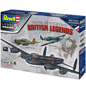 British Legends Gift Set (Level 5) (Scale 1:72)