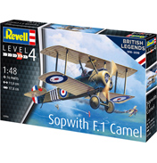 British Legends: Sopwith F.1 Camel (Level 4) (Scale 1:48)