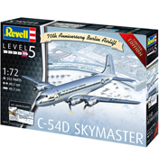 C-54D Skymaster Berlin Airlift 70th Anniversary (Level 5) (Scale 1:72)