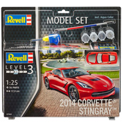 Chevrolet 2014 Corvette Stingray (Level 3) (Scale 1:25)