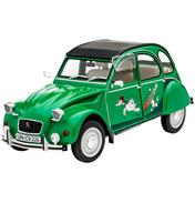 """Citroën 2CV """"Sausss Ente"""" (Level 4) (Scale 1:24)"""