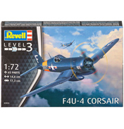 F4U-4 Corsair (Level 3) (Scale 1:72)