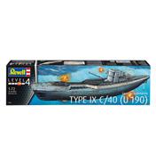 German Submarine Type IX C/4
