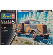 German Truck Type 2,5-32 (Level 5) (Scale 1:35)
