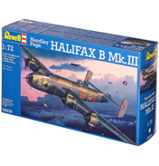 Handley Page Halifax B Mk.III (Scale 1:72)