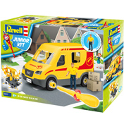 Delivery Van & Driver (Scale 1:20)