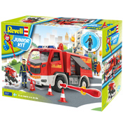 Fire Truck with Fireman Figure (Scale 1:20)