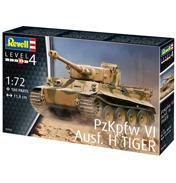 PzKpfw VI Ausf. H Tiger Tank (Level 4) (Scale 1:72)
