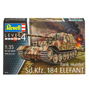 Sd.Kfz. 184 Tank Hunter Elefant  (Scale 1:35)