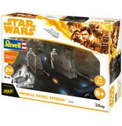 Build & Play Imperial Patrol Speeders (Scale 1:28)