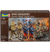 WWI Infantry (Scale 1:35)
