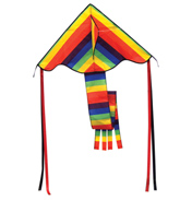Spirit of Air Super Rainbow Flyer Delta Kite (ALT…