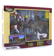 Saddle Pals Horse Families Gift Set