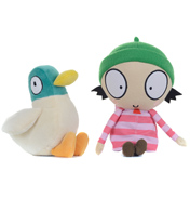 Sarah & Duck Soft Toy With Sound DUCK (Size…