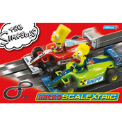 Scalextric The Simpsons Micro-Scalextric (Scale…