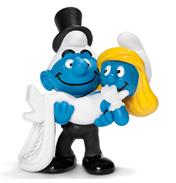 Bride & Groom Smurf