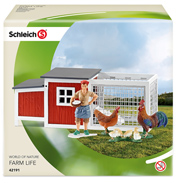 Schleich Farm Life Chicken Coop