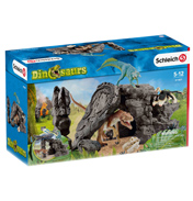 Dinosaurs Dino Set with Cave Playset