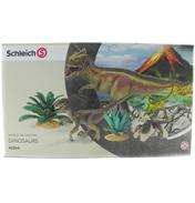 Giganotosaurus & Velociraptor Set