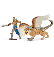 Warrior with Griffin