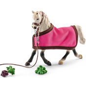 Horse Club Arab Mare with Blanket Figure & Accessory