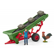 Hay Conveyor with Farmer