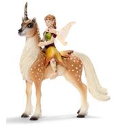 Female Elf on Forest Unicorn