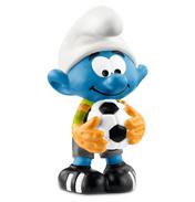Football Smurf Goalkeeper