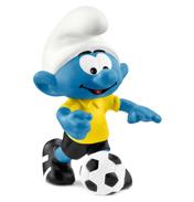 Football Smurf with Ball