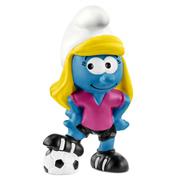 Football Smurfette Figure
