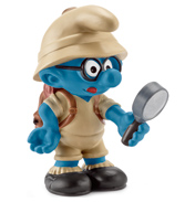 Jungle Brainy Smurf