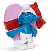 Schleich Valentine's Day Smurf