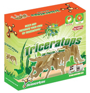 Science4you 3D Puzzle & Book Triceratops