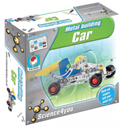 Science4you Car Metal Building Set
