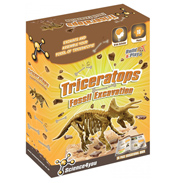 Fossil Excavation Triceratops