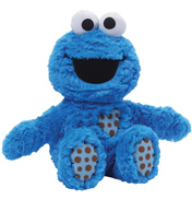Sitting Cookie Monster 25.5cm Plush