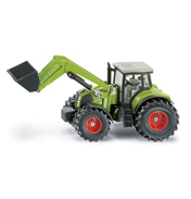 Claas Tractor With Front Loader