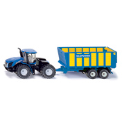 New Holland T9.560 With Silage Trailer