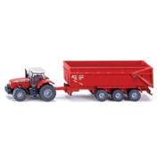 Massey Ferguson Tractor With Trailer