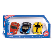 Siku 3 Piece Sports Cars Gift Set