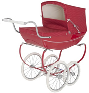 Silver Cross Oberon Dolls Pram in Poppy fabric