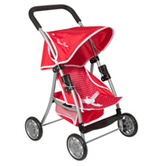 Silver Cross Cruiser Pushchair in Poppy Domino