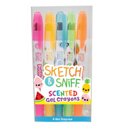 Sketch & Sniff Scented Gel Crayons (Pack of 5)