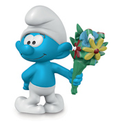Smurf with Bouquet
