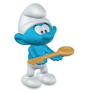 Smurf with Key