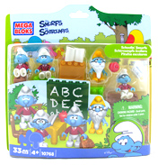 Mega Bloks Smurfs Celebration Figure Set