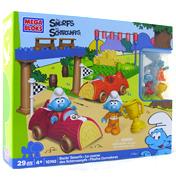 Mega Bloks Smurfs Small Playset Smurfs Playground…