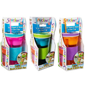 Snackeez Drinks Cup BLUE & PINK