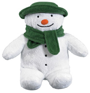 The SNOWMAN 15cm Bean Toy